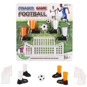Toys Table-Game-Set Club Soccer-Game Footballs Gifts Two-Goals Party with for Fans Finger