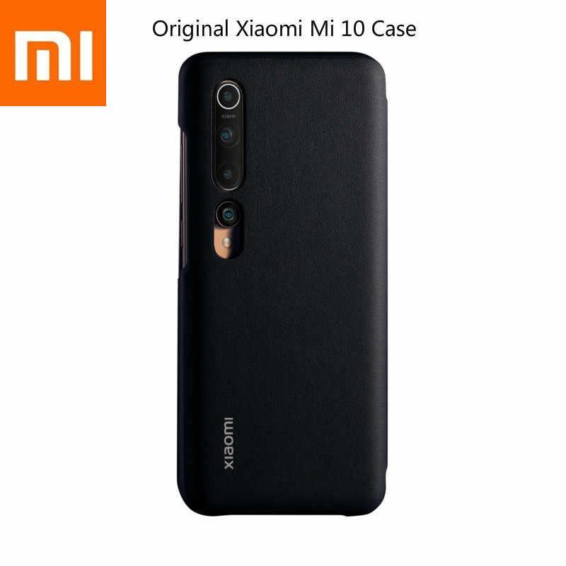 Asli Xiao Mi Mi 10 Ponsel Flip Case 360 ° Ponsel Casing Smartphone 12GB + 256GB Mi UI 11 6.67-Inch 20Mi Llion Llion Kamera Depan Mereka