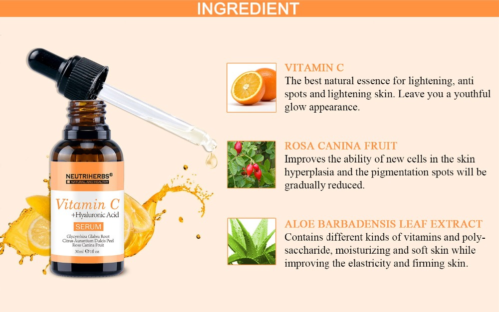 Vitamin C Serum-Ingredients