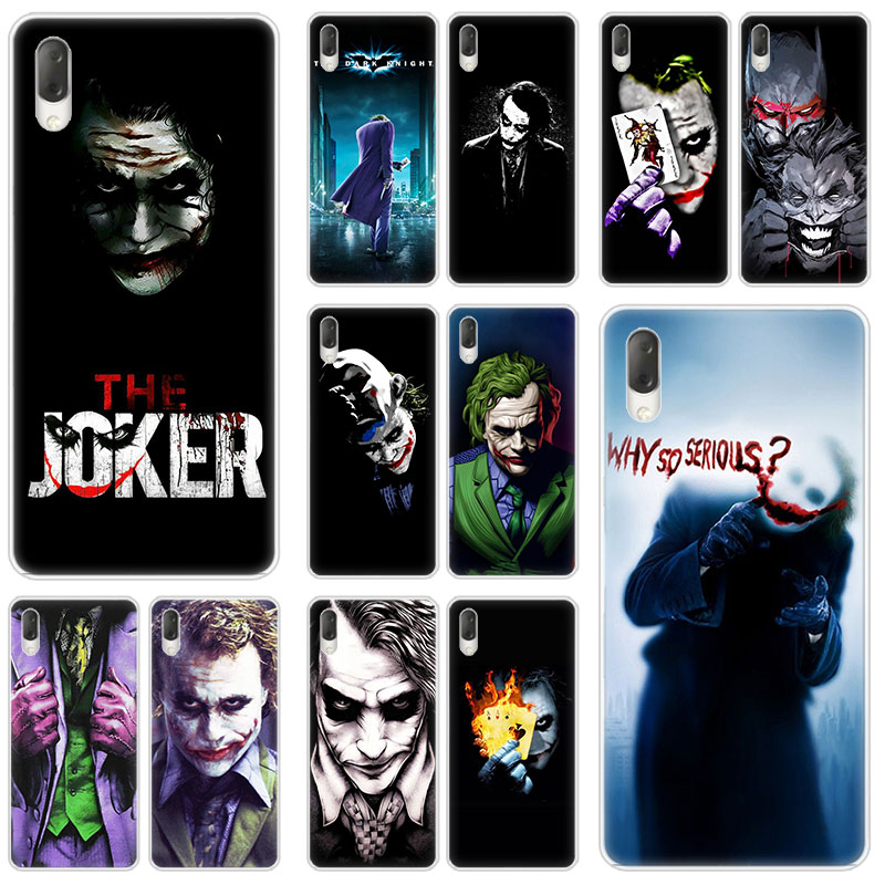 Marvel The Joker Batman Hard <font><b>Case</b></font> For <font><b>Sony</b></font> <font><b>Xperia</b></font> L1 L2 <font><b>L3</b></font> X XA XA1 XA2 XA3 Ultra 10 Plus E5 XZ XZ1 XZ2 Compact XZ3 XZ5 20 Cover image