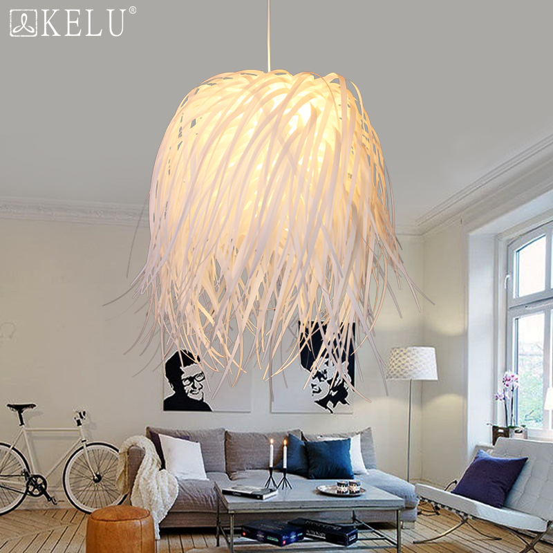 The Nordic Minimalist Modern Dining Room Bedroom Lamp Lamp American Country Clothing Art Pendant Pp Bed lampen industrieel