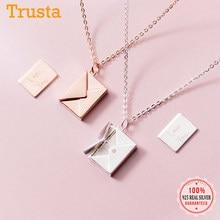 Trusta 925 ayar gümüş kolye takı