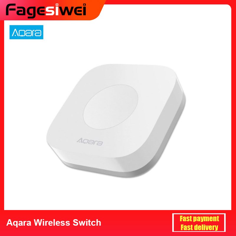 Aqara Wireless Mini Switch Smart Switches Intelligent Application Remote Control Wifi Connection For Doorbell