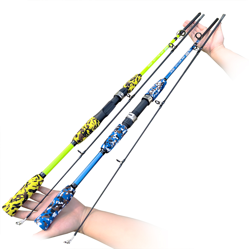 Spinning Casting Fishing Rod Hand Lure Carbon Feeder Pole Carp Fly Gear Pesca 1.5M 1.8M 3g-21g Ultralight Travel Surf  New