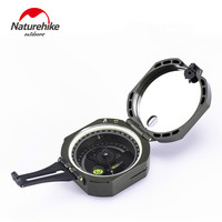Naturehike High precision fluorescent night vision multifunctional compass outdoor exploration geological survey compass