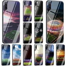 EWAU Barcelona Spain Estadio Camp Tempered Glass Phone Cover