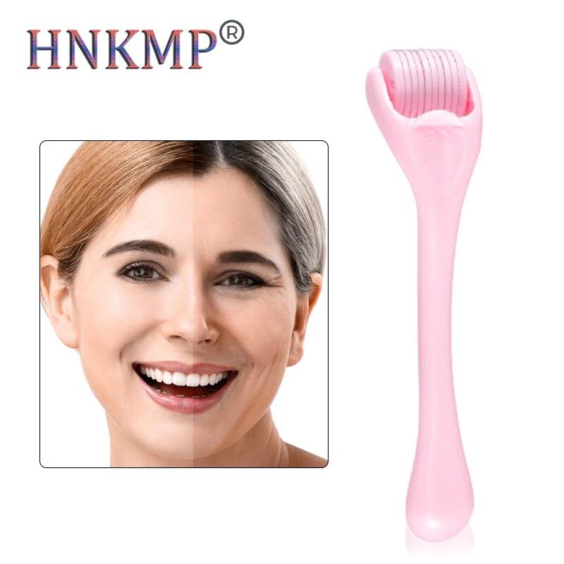 HNKMP 540 Micro aiguille rouleau stylo Microneedling aiguilles longueur Microniddle rouleau Mesoscooter pour la beauté des soins de la peau du visage