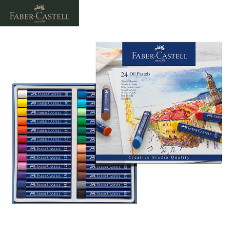 faber castell 1270 oleo macio profissional pastel