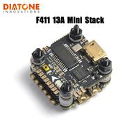 Diatone MAMBA F411 13A Flight Controller MPU6000 Dshot600&2 4S MINI STACK BEC 5V/1.5A for RC FPV Racing Drone Racer