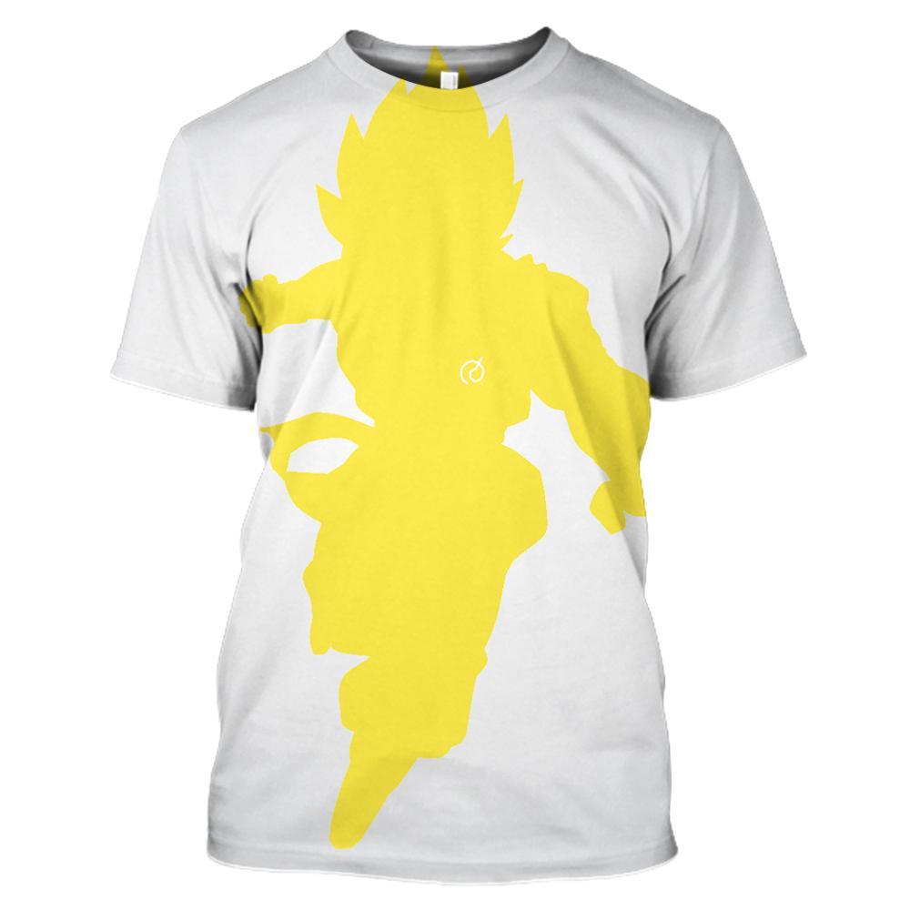Мужская и женская новая одежда, футболка с 3D принтом dragon ball Z, модная футболка с короткими рукавами и круглым вырезом в японском стиле