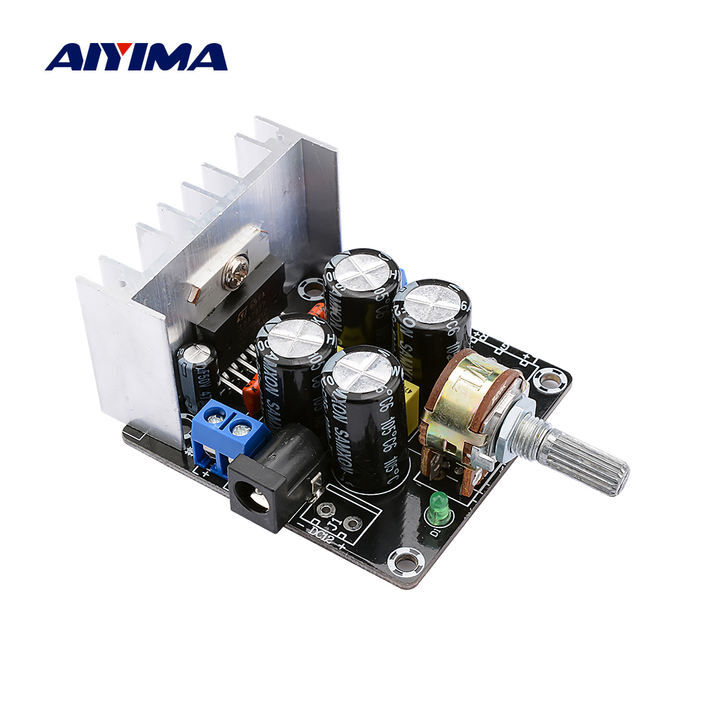 AIYIMA TDA7377 Power Home Amplifier 15Wx2 Audio Stereo Mini Amp DIY Bookshelf Sound Music Speaker Amplifier With Tone Control