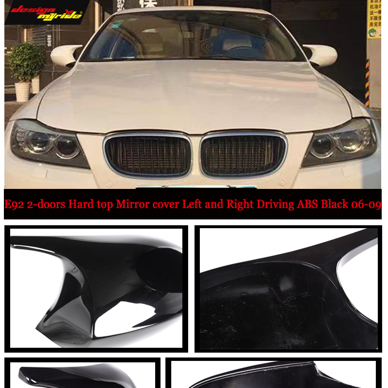 New Door Mirror Glass Replacement Driver Side For BMW 650I 2006-09