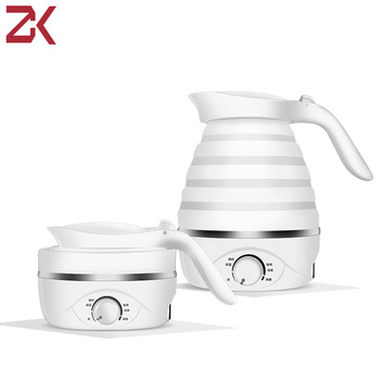 Electric Kettle Silicone Foldable Water Portable kettle travel mini for household