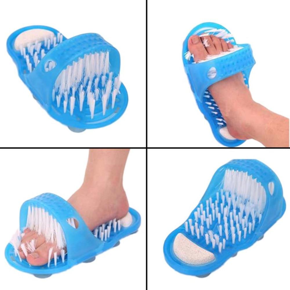 foot care tool shower Feet Foot Cleaner Scrubber Washer Brush Massage feet washbrush skin massager relax 1pcs dropshipping