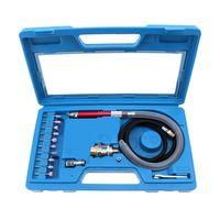 16pcs High Speed Air Mini Die Grinder Kits Mini Pencil Polishing Engraving Tool Grinding Cutting Pneumatic Tools|Pneumatic Tools| |  -