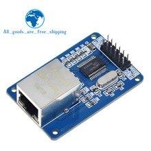 Mini ENC28J60 Ethernet LAN Netzwerk Modul Für Arduino 51 AVR SPI PIC STM32 LPC Ethernet MCU Entwicklung Board Unterstützung Module