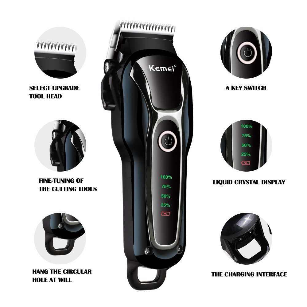100-240v Rechargeable Professional Dog Hair Trimmer For Cat Cutter Grooming Machine Hair Remover Animal Hair Clipper For Pet image