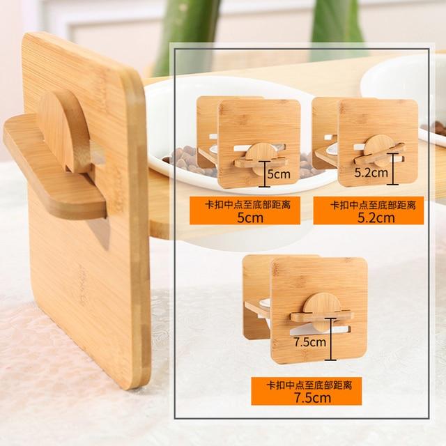 1/2/3 Ceramic Dish Bowl Wooden Table  3