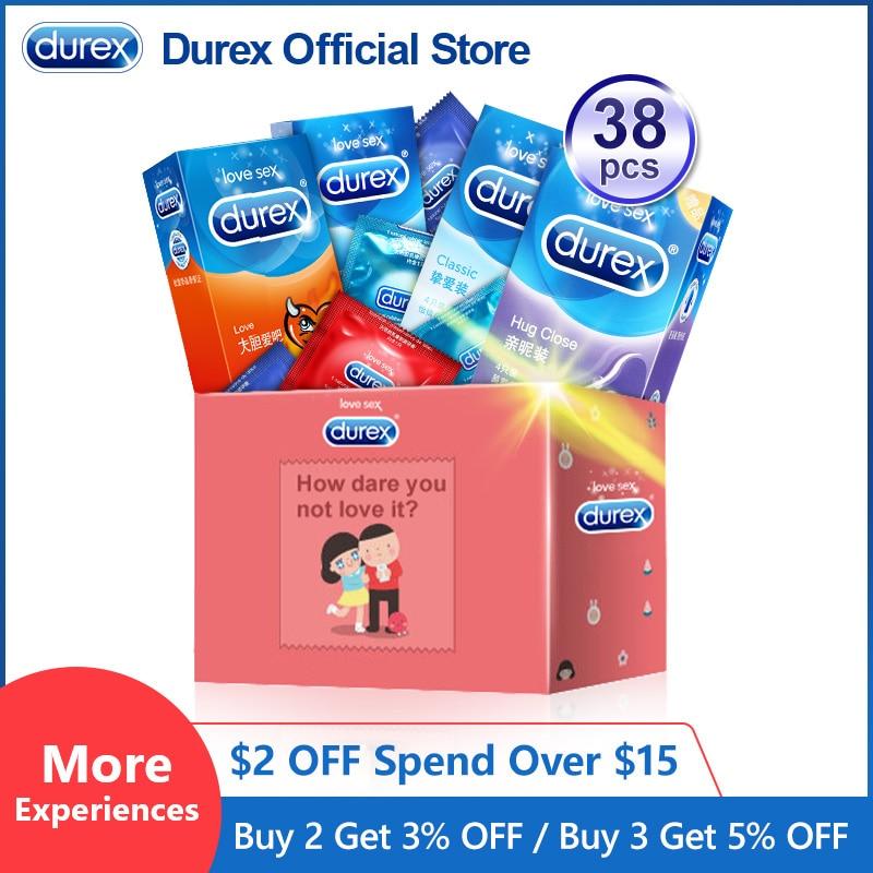 Durex Mix Kondom Ultra Dünne Intimen Waren Empfängnisverhütung Sex Produkte Natürliche Gummi Penis Hahn-hülse Kondome Für Männer