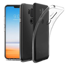 Cherie Shockproof Case For LG G6 G7 V40 V30 V20 V10 Q7 Q6 Q60 G5 G4 G3 G2 K50 K40 K4 K10 K8 2017 2018 Cover Clear Soft TPU Case(China)