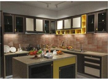 LED Under Cabinet Kitchen Light Bedroom Wardrobe Closet Night Lights ultra-thin 15/30/50cm LED Bar Light Indoor Home Lamp