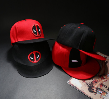 Anime Deadpool Embroidery Snapback