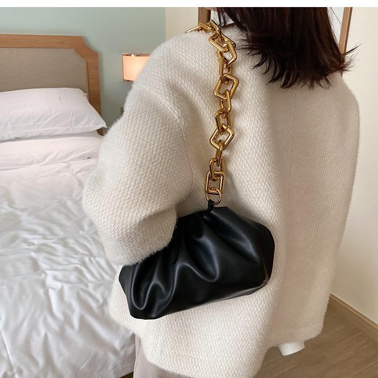 mensageiro designer nuvem feminina crossbody sacos de