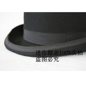 Image 3 - The phantom lr amir khan in the original single Wool Bowler Hat luxury felt billycock hats for men with belt rolled brim