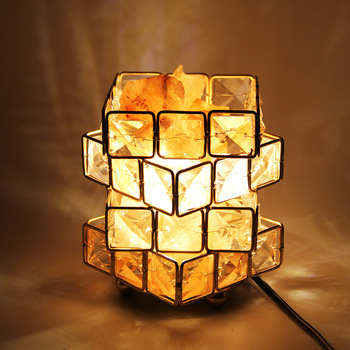 Artpad Crystal Salt Stone Lamp Himalayan Salt Lamp Creative Bedroom Bedside Night Light LED Table Lamp 5W AC85-265V modern luxurious chrome crystal table lamp bedroom light bedside lamp ball table lamp night light