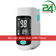 Oxímetro de dedo digital medidor de medição da taxa de pulso do monitor de oxigênio no sangue spo2 pr