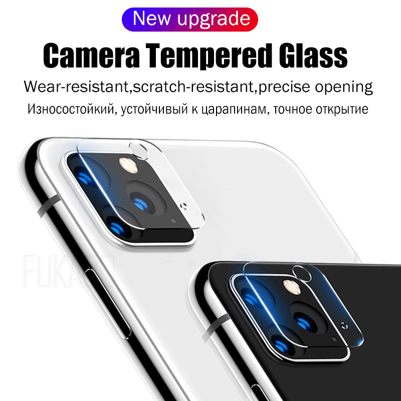 45D Full Cover Camera Screen Protector For iPhone 7 11 Pro XR XS Max Tempered Glass 1