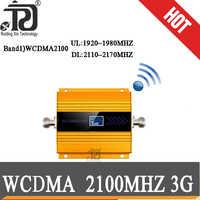 Wzmacniacz 3g 2100 wzmacniacz komórkowy 2100 mobilny wzmacniacz sygnału 2100MHz wzmacniacz sygnału LCD LTE WCDMA UMTS Dropshipping
