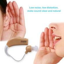 Слуховой аппарат усилитель звука перезаряжаемый Регулируемый слуховой аппарат для пожилых людей/слуховой потери пациента