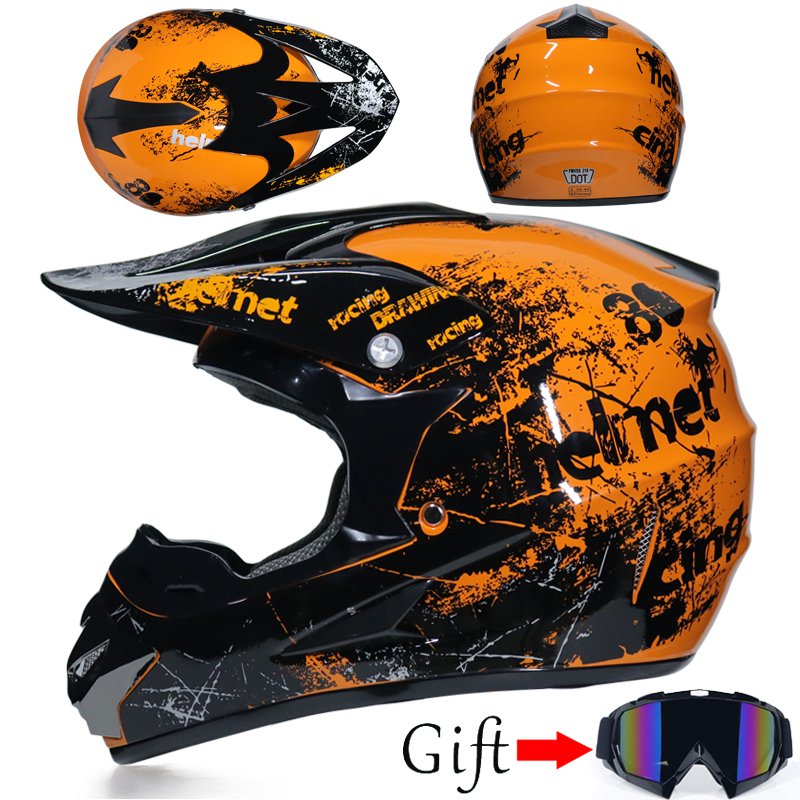 Free shipping Classic bicycle MTB DH racing helmet motocross downhill bike helmet off road mountain full