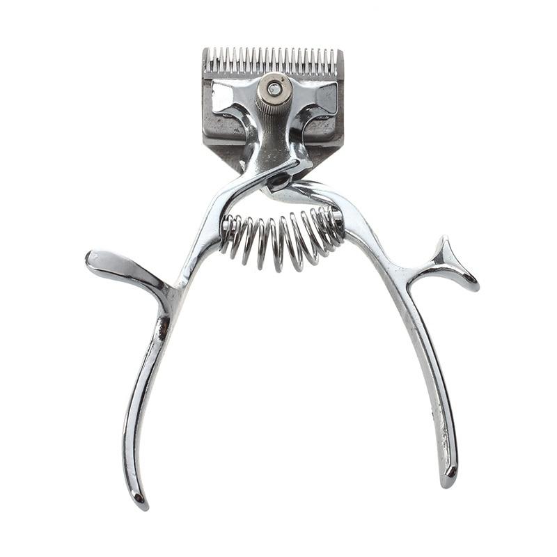 Old Fashion Manual Clipper Haircut Hand Push Low Noise Non-Electric Hair Cutter