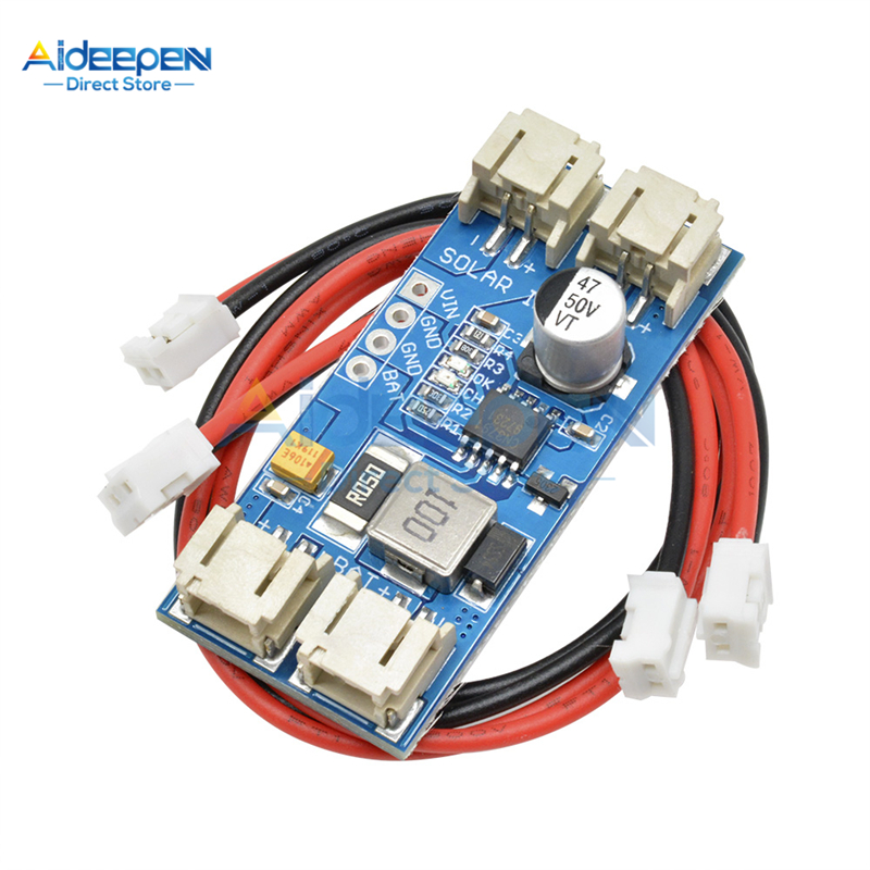 DC 6V 9V 12V CN3791 MPPT Solar Panel Regulator Module 2 Pin JST Connectors Interface With Overvoltage Protection