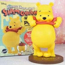 Figuras de películas auténticas de juguetes de Disney Winnie the Pooh colección limitada Linda figurita modelo muñecas con caja de 22,5 CM