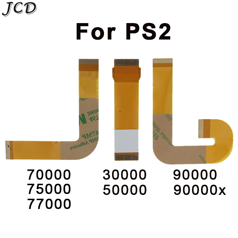 JCD Ribbon Cable Laser Lens For <font><b>PS2</b></font> Slim Flex Connection SCPH 30000 <font><b>50000</b></font> 7000 90000 Accessory Replacement for PS Playstation 2 image
