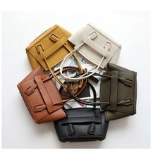 лучшая цена Genuine Leather Shoulder Ladies Wing Bag Luxury Brand Handbags Large Capacity Big Shopping Women Bag Vintage Bag In Women's Tote