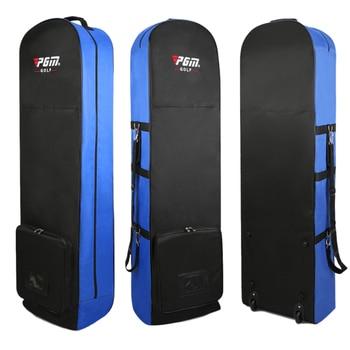 Portable Golf Travel Bag Folding Golf Clubs Storage Bag With Wheels For Kids Educational Toys - Black + Blue/Orange/Yellow/Black