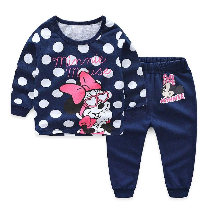 Cotton Kids Toddler Baby Girls Unicorn Sleepwear   Pajamas   Cartoon Long Sleeve Top + Pant 2pcs   Pajamas     Sets