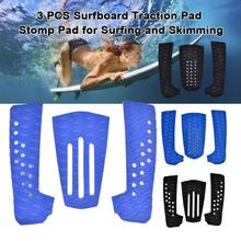 Surf Pad EVA Tail Pads Sup Deck Pads Traction Surf Pads Wholesale Surfboard Foot Tail Pads Water Sports Surfing Accessories 4