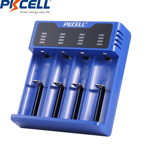 Image 4 - PKCELL سريع تهمة شاحن بطارية 18650 14500 26650 AA AAA ل 1.2 فولت 3.2 فولت 3.7 فولت ni mh NI CD بطارية ليثيوم أيون 5 فولت 2A LED الذكية USB