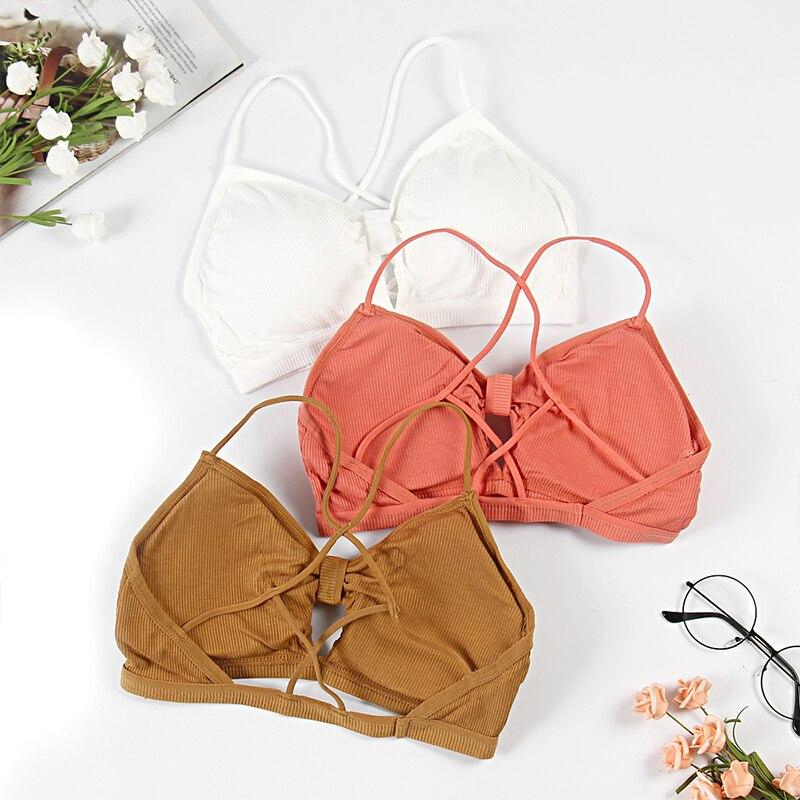 Sexy Ladies Bandeau Top Push Up Bras Wrap Top Padded Lingerie Bralette Gather Push Up Women Bandeau Top Lingerie Underwear B0147