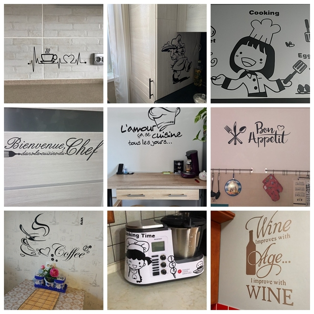 Kitchen Vinyl Wall Stickers 2