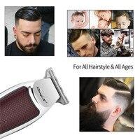 USB Professional Hair Clipper Electric Hair Trimmer Cordless Hair Cutting Machine  Men Beard Trimmer Shaver Haircut Clipper 4