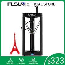 3D Drucker Flsun QQ S PRO Delta Kossel Auto-Level-Verbesserte Lebenslauf Pre-Montage TFT 32bits Bord impressora Drucker