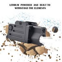 Mini Sight Optics Accessories 220 Lumens Hunting Tactical LED Flashlight Red Laser Weapon Light Strobe Gun Light Picatinny Rail