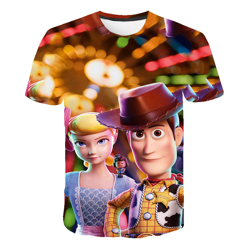 Toy Story Buzz Light year Woody inspired Kids T-shirt Novelty Personalized