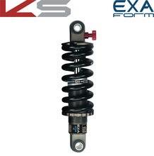 EXA-Amortiguador trasero de bicicleta, muelle de suspensión ajustable, resorte contra choques Kindshock, con forma de 291 R, MTB y bicicleta de descenso, 125, 1000, 1250 libras e scooter